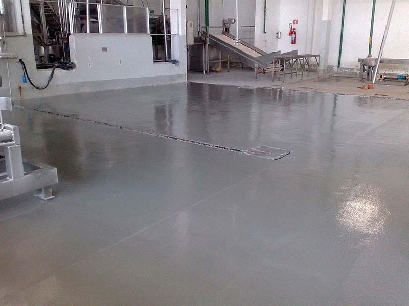 Pintura de piso em uretano