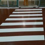 Demarcação de piso