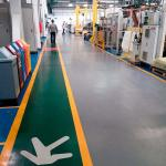 Revestimento para piso com tinta epoxi
