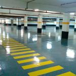 Tinta epoxi para piso industrial